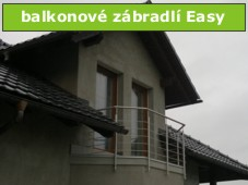 Balkonové zábradlí Easy