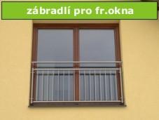 zábradlí pro francouzská okna-z komponent