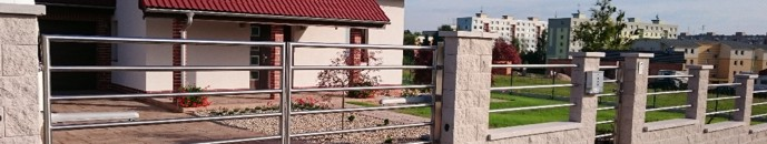 Nerezový plot