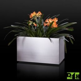 Nerezový květináč 60x20x20