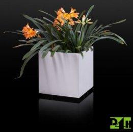 Nerezový květináč 40x40x40
