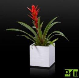 Nerezový květináč 20x20x20