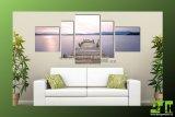 Obraz 5D pětidílný obraz tisk na plátně