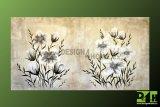 Obraz na plátně květiny 140x75 ručně malovaný moderní motiv