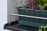Držák květináčů na parapety - rozpěrný do okapnice parapetu 1000