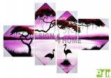 Čtyřdílné obrazy - čtyřdílný obraz na stěnu