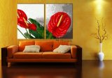 Obraz květin - moderní dvoudílný obraz